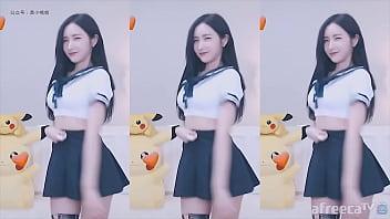 公众号【91报社】韩国主播皮丘PICHU学生制服热舞