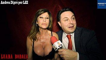 Andrea parker fake nude pics Luana borgia gives a blowjob lesson for andrea diprè