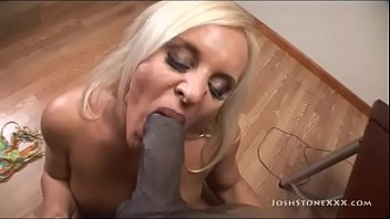 Curvy MILF Alexis Golden Sucks and Fucks Big Black Cock