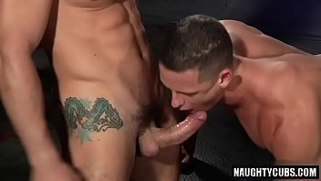 Big cock jock dildo with cumshot
