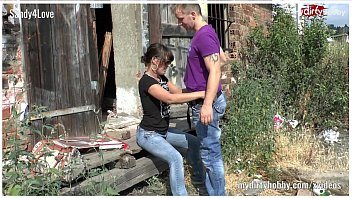 German outdoor user sex at a shack
