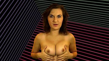 Fembot Gives Jerk Off Instruction While Topless