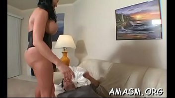 Woman with boy porn videos Superb home porn with breasty woman facsitting while stroking 10-pounder