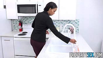 PropertySex - Hot property manager fucks pissed off tenant thumbnail
