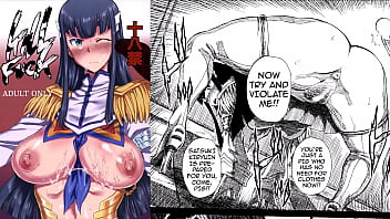 MyDoujinShop - Making Satsuki Submit To Sexual Advances And Spread Her Pussy Kill la Kill Read Online Porn Comic Hentai