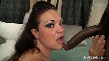 Horny Mexican plumper Angelina hardcore interracial sex
