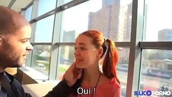 Petite rouquine d&eacute_fonc&eacute_e par un gros chibre [Full Video]