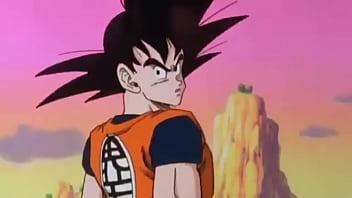 Goku chama o nappa de Cuzão