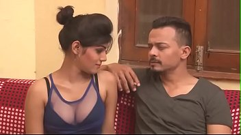 Hot Indian milf cleavage show boob press kissing Indian HD Bhabhi Thumb