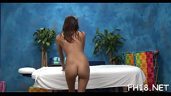 Hot 18 year old honey gets fucked hard by her massage therapist