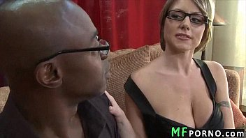 Teacher with glasses tries big black dick Velicity Von 2 thumbnail