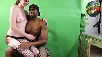 Interracial Part #5 Tae Lit XXX and Aria Khaide – Behind the scenes footage