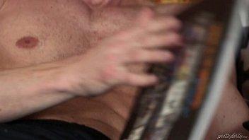 Daddy sniffing her Step Daughter Piper Perri'_s panties