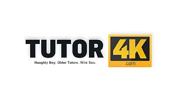 TUTOR4K. Smart guy fucks swindler who pretended to be his new tutor