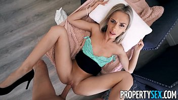 PropertySex Hot Blonde Real Estate Agent Bangs Her Sister's Fiancé