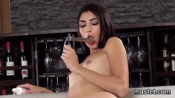 Sexy czech girl opens up her pink crack to the extreme