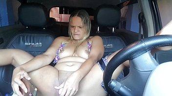 Estacionei o carro na rodovia para fazer uma chamada de video !!! Paty Bumbum