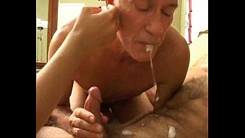 Bi mature orgy Grandpas bisexual fun with younger couple