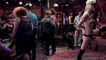 Babes rough fucking at orgy bdsm party