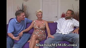 Sharing My Hot Wife With A Friend wife swapping porn