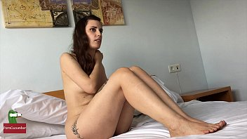 Pretty woman nude Casting with a young and pretty lawyer nude