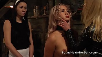 Pleasure and Pain: Lesbian Slave In Hands Of Merciless Dominant Mistress