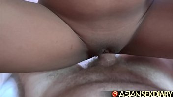 Asian Sex Diary - Two young Filipina girls fucked by big white cock preview image