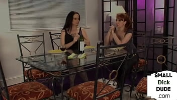 CFNM Femdom Group Tugging Tiny Dick Submissive