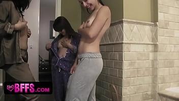 Lesbian friendly colleges - Teen best friends pajama party lesbian fuck fest - bfflove.com