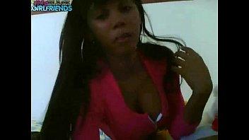 Sexy webcam show from a slender black girl - www.fuck-se.xyz/livecam