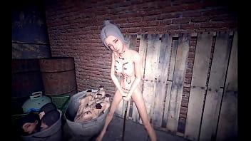 Brutal torture for skinny bitch Vorschaubild