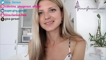 Gina Gerson , homevideo, interview, for fans, answer questions part 6, pornstar