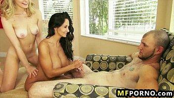 Hot MILFs 3some Alli Rae, Ava Addams 7