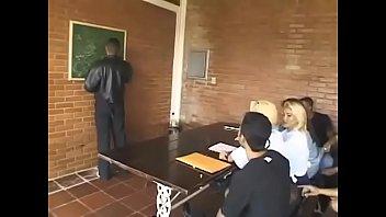 A lush shemale-teacher teaches a student - Part 2 on JoinMyWorld.info