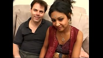 Indian honey with hot tits gets stiff fuck from guy in room