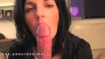 Brunette Milf makes my dick explode