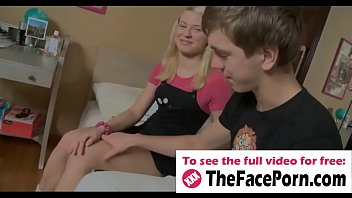 Cute blonde tight pussy licked and penetrated - www.thefaceporn.com