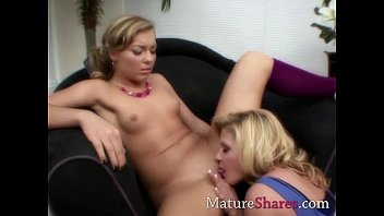 Matures licking each others pussies