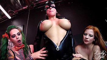 BATMAN: Enslaved Crusader! Lady Fyre Taurus MallorySierra