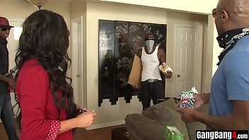 BBC robbers steal an innocent housewifes anal virginity