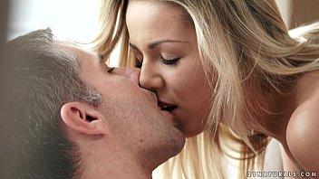 Cute blonde Christen Courtney loves morning sex
