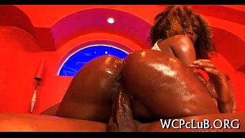 Free mature ebony mom porn Beauty double penetrated