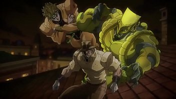 jojo's bizarre adventure stardust crusaders Egypt Arc capitulo 22 (sin censura)