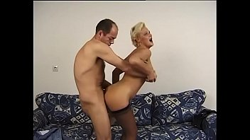 Dirty MILF Diana gives blow job then gets slammed from behind