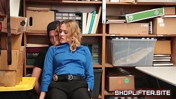 Female Officer Krissy Lynn Blackmailing Shoplifter