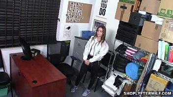 Officer Jmac won't let suspect Havana go, if she'd not let him bang her milf pussy thumbnail