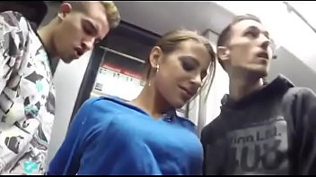Amateurs  Public Train Underground porno izle