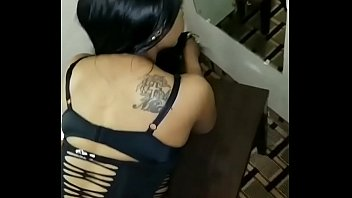 Ebony oiled bubble butt