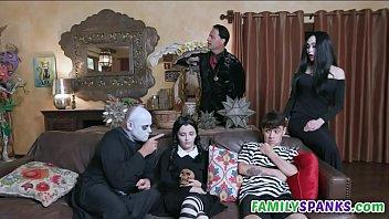 Adams Family Doing Wild Orgy