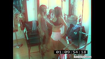 CCTV Captures A Hot And Skanky Lesbian Affair thumbnail